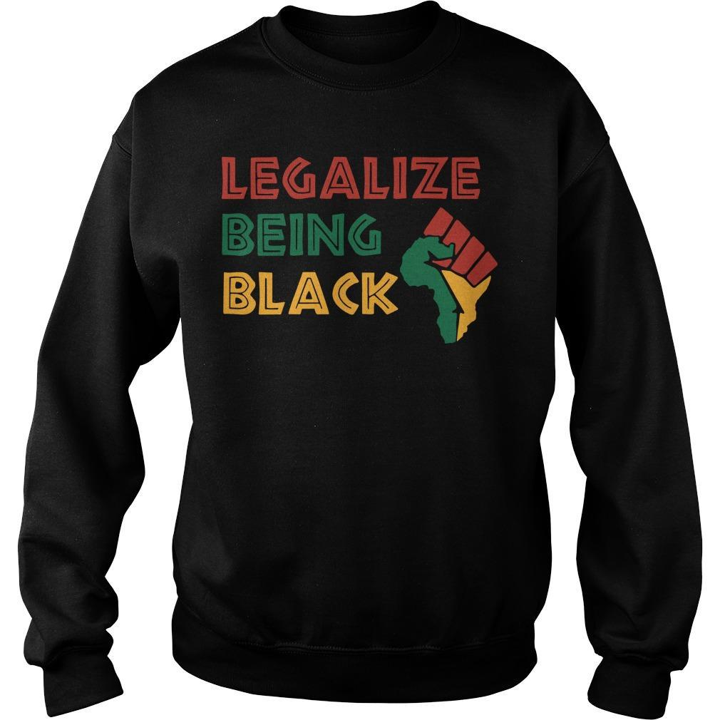 Legalize Being Black Sweater