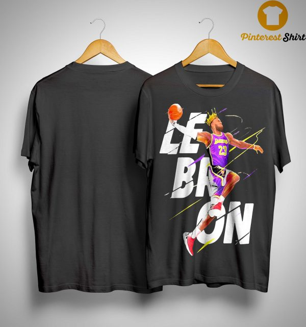 Los Angeles Lakers Basketball Lebron James King Shirt