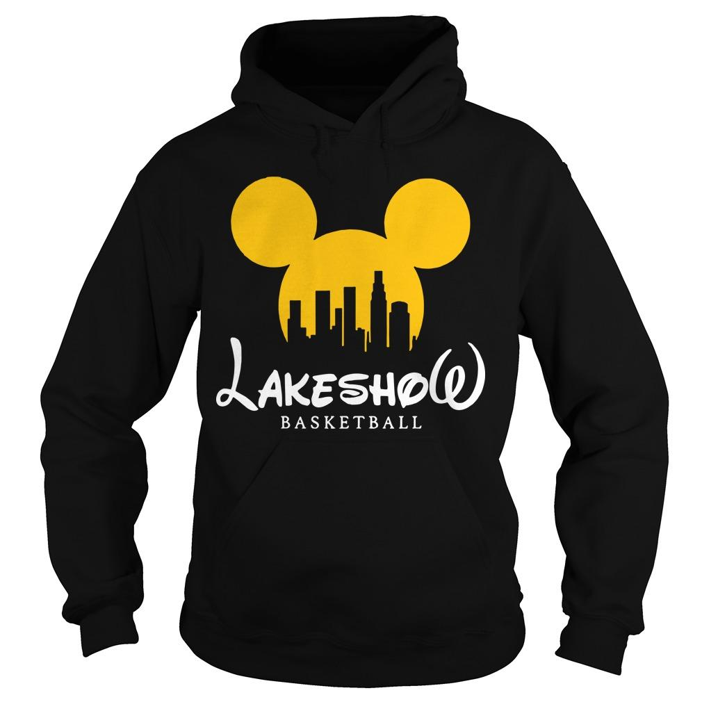 Mickey Mouse Lakeshow Basketball Hoodie