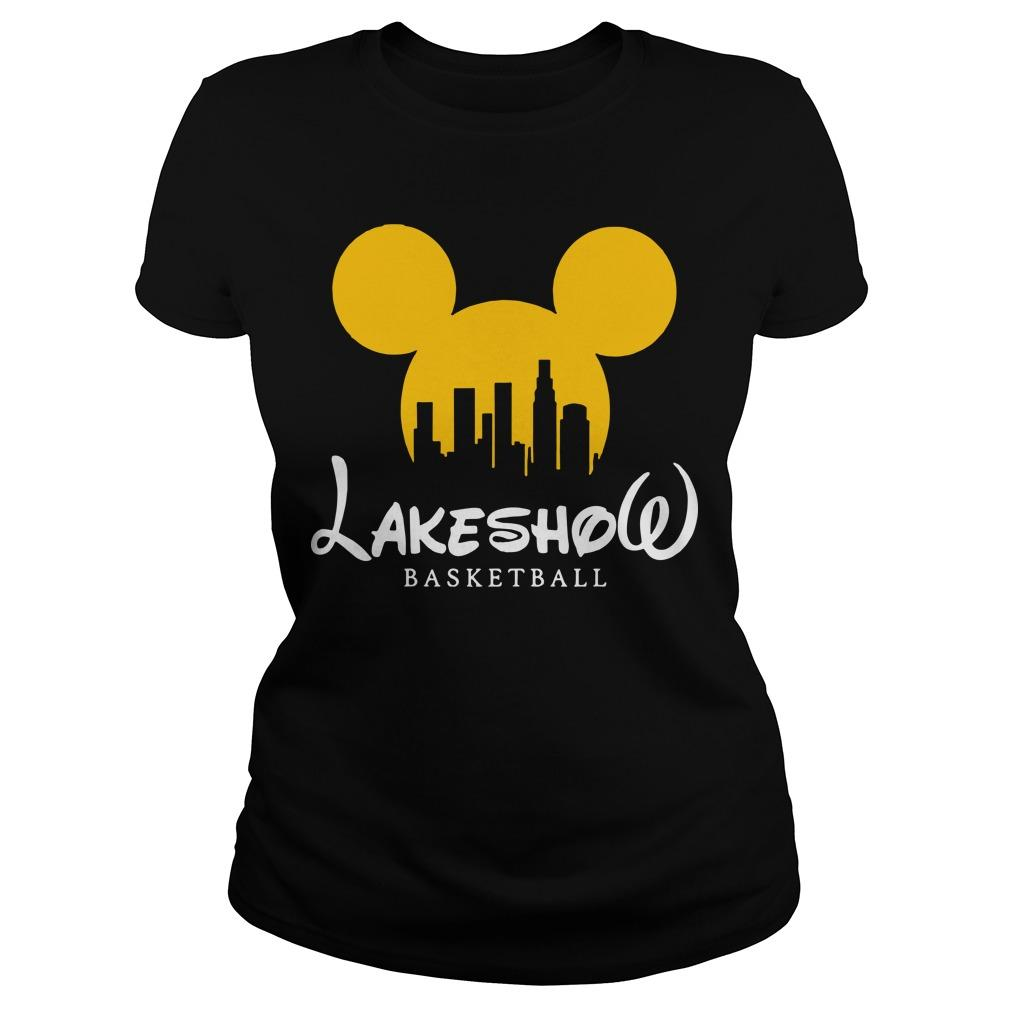 Mickey Mouse Lakeshow Basketball Longsleeve