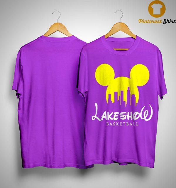 Mickey Mouse Lakeshow Basketball Shirt