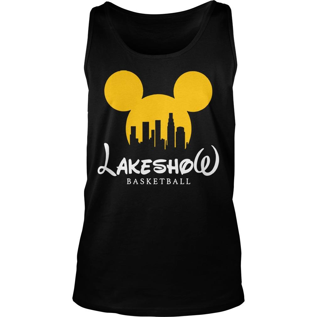 Mickey Mouse Lakeshow Basketball Tank Top
