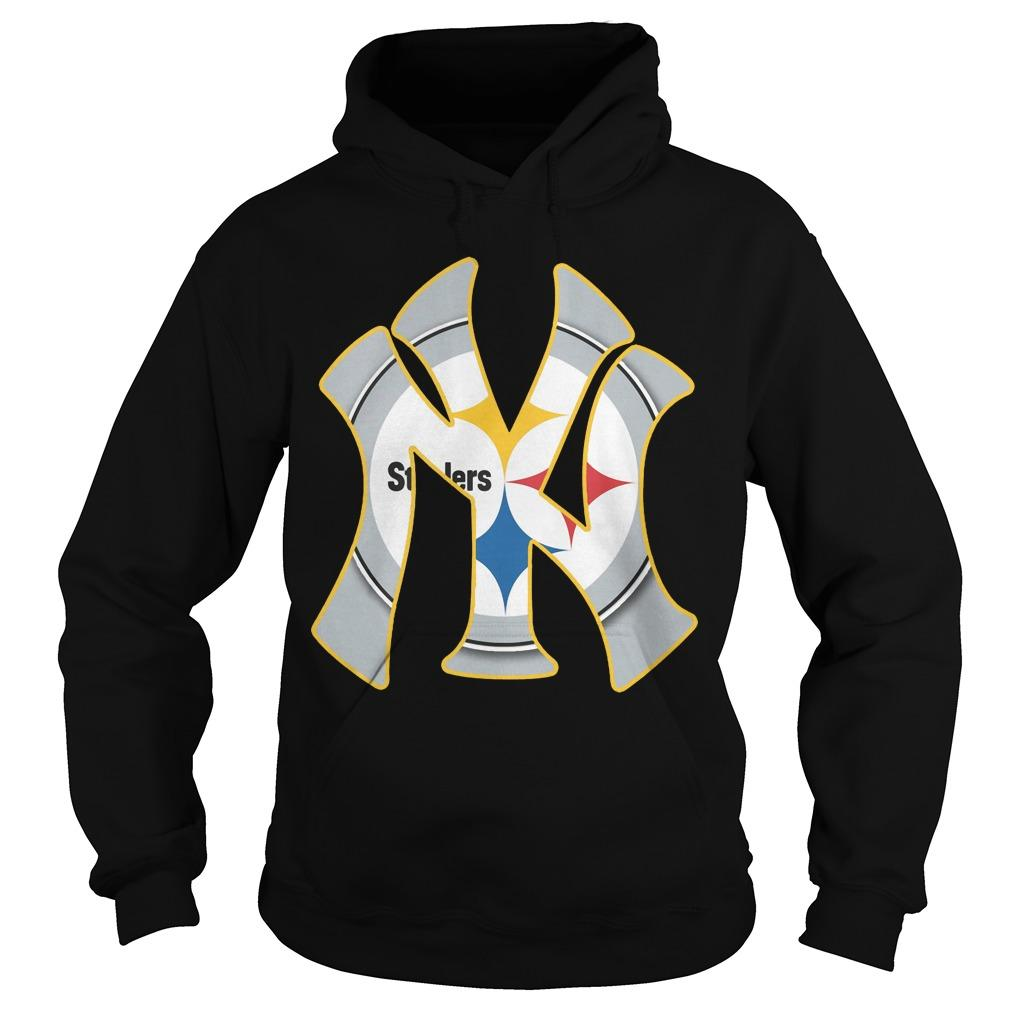 New York's Yankees Steelers Hoodie