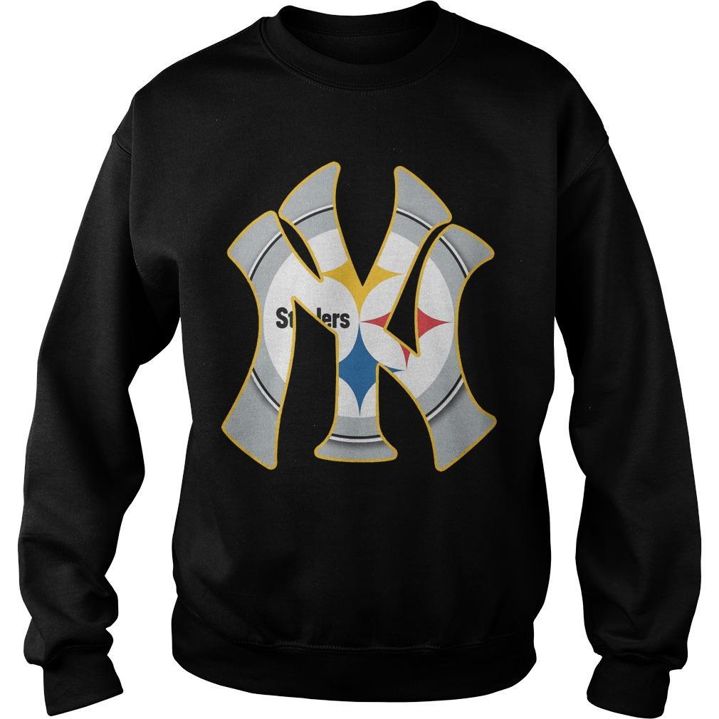New York's Yankees Steelers Sweater