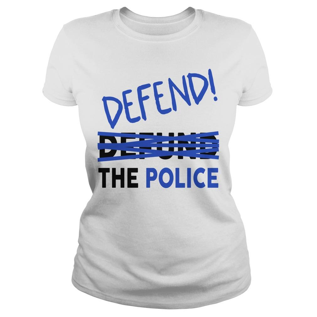 Nicole Sganga Defend Not Defund The Police Longsleeve