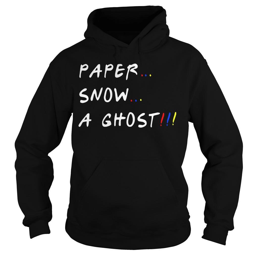 Paper Snow A Ghost Hoodie