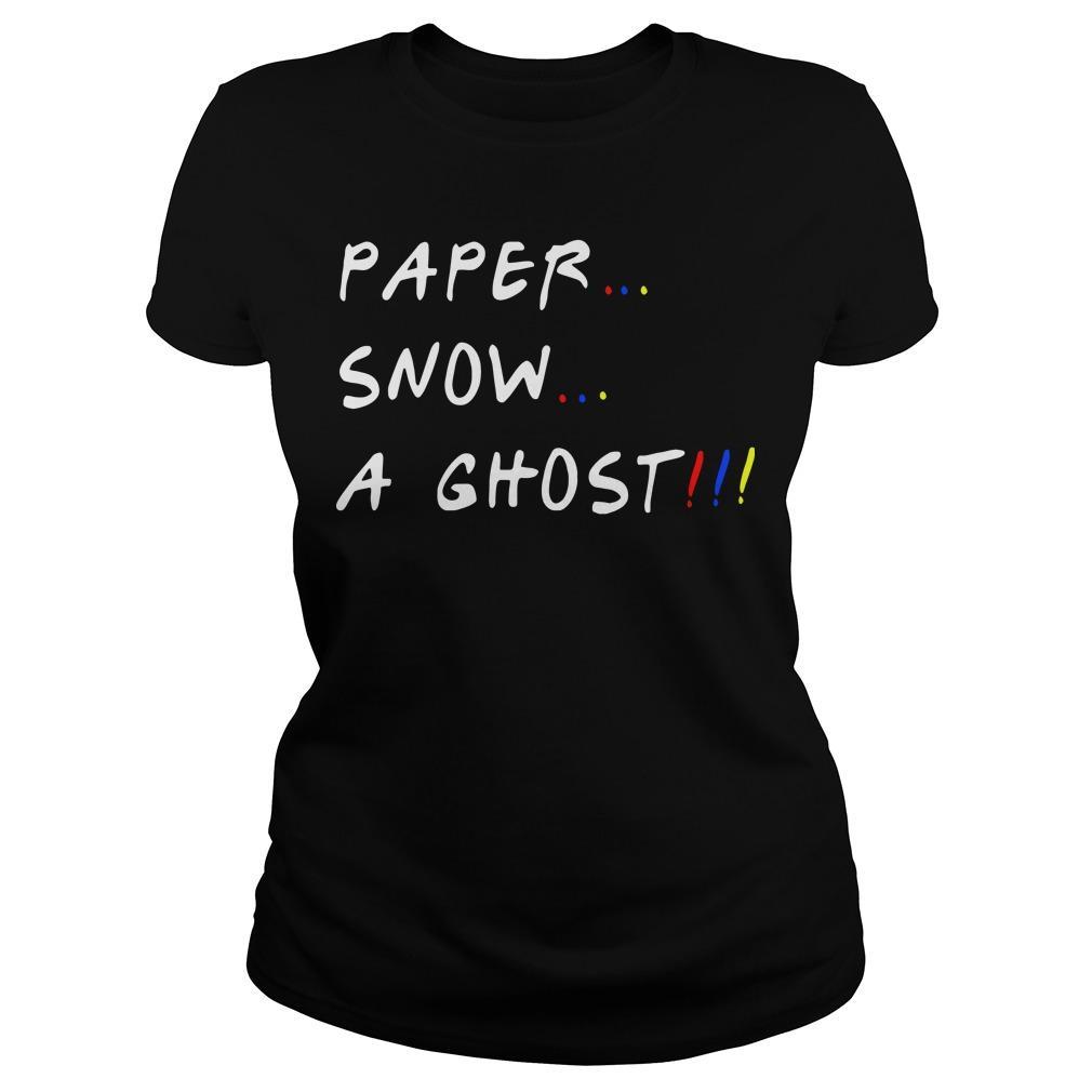 Paper Snow A Ghost Longsleeve