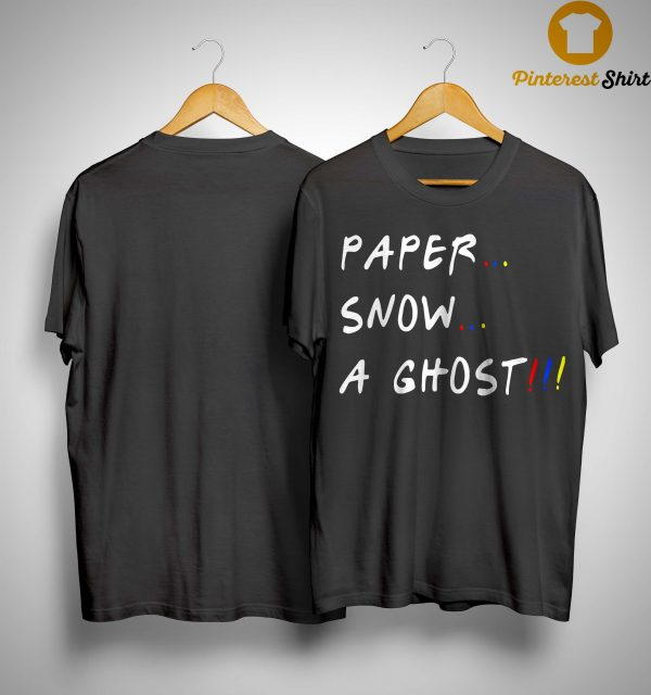 Paper Snow A Ghost Shirt