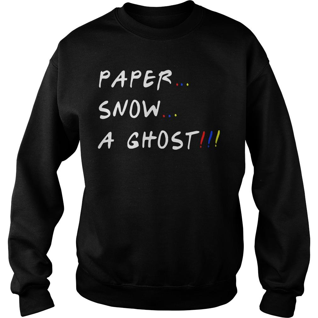 Paper Snow A Ghost Sweater