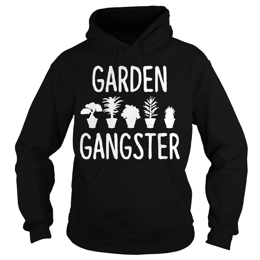 Plant Pots Garden Gangster Hoodie