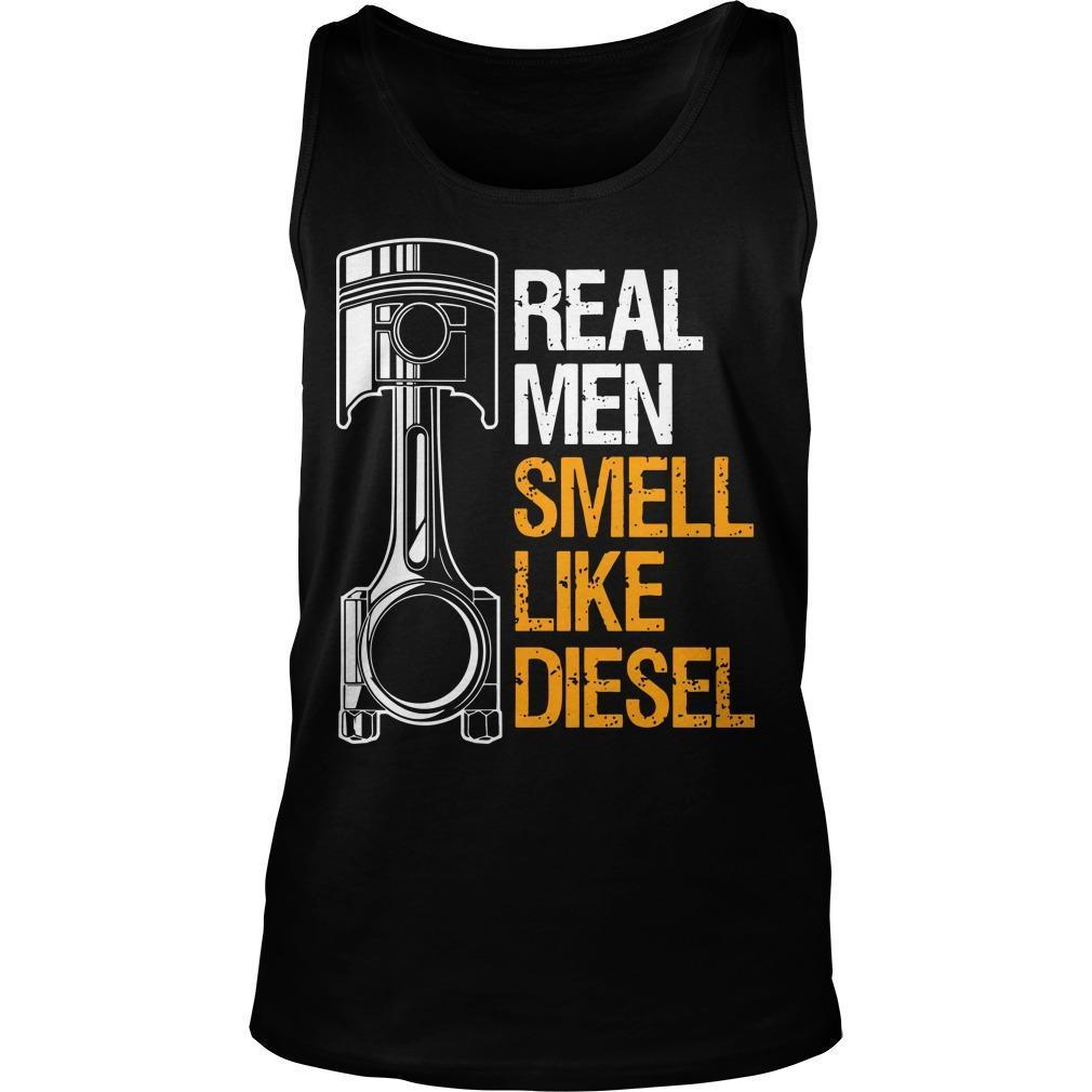 Real Men Smell Like Diesel Tank Top