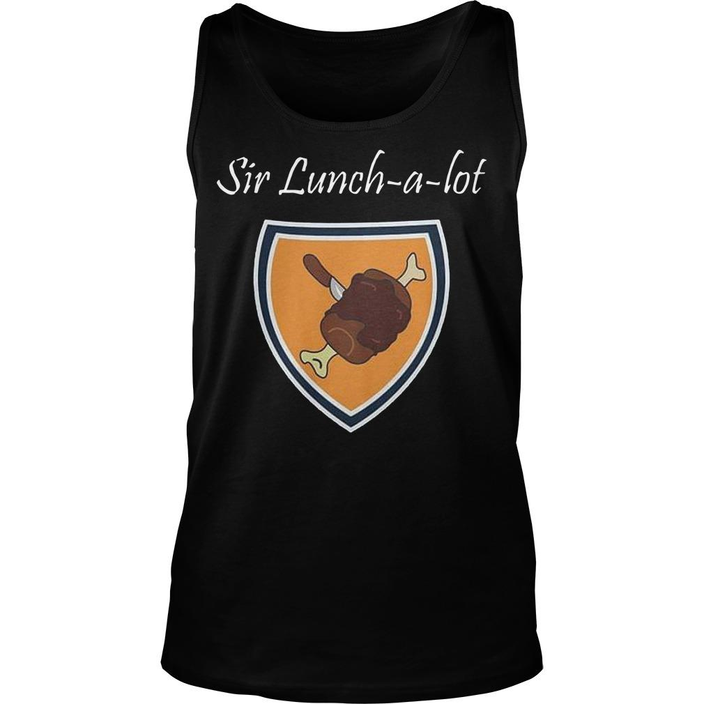 Sir Lunch A Lot Tank Top