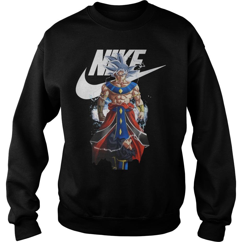 Songoku Ultra Instinct Destroyer Nike Sweater