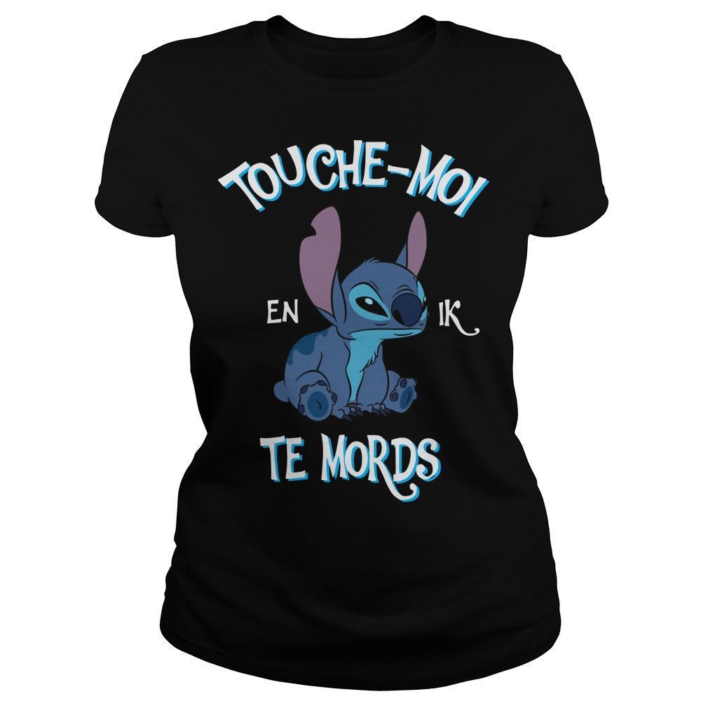 Stitch Touche Moi Et Je Te Mords Longsleeve