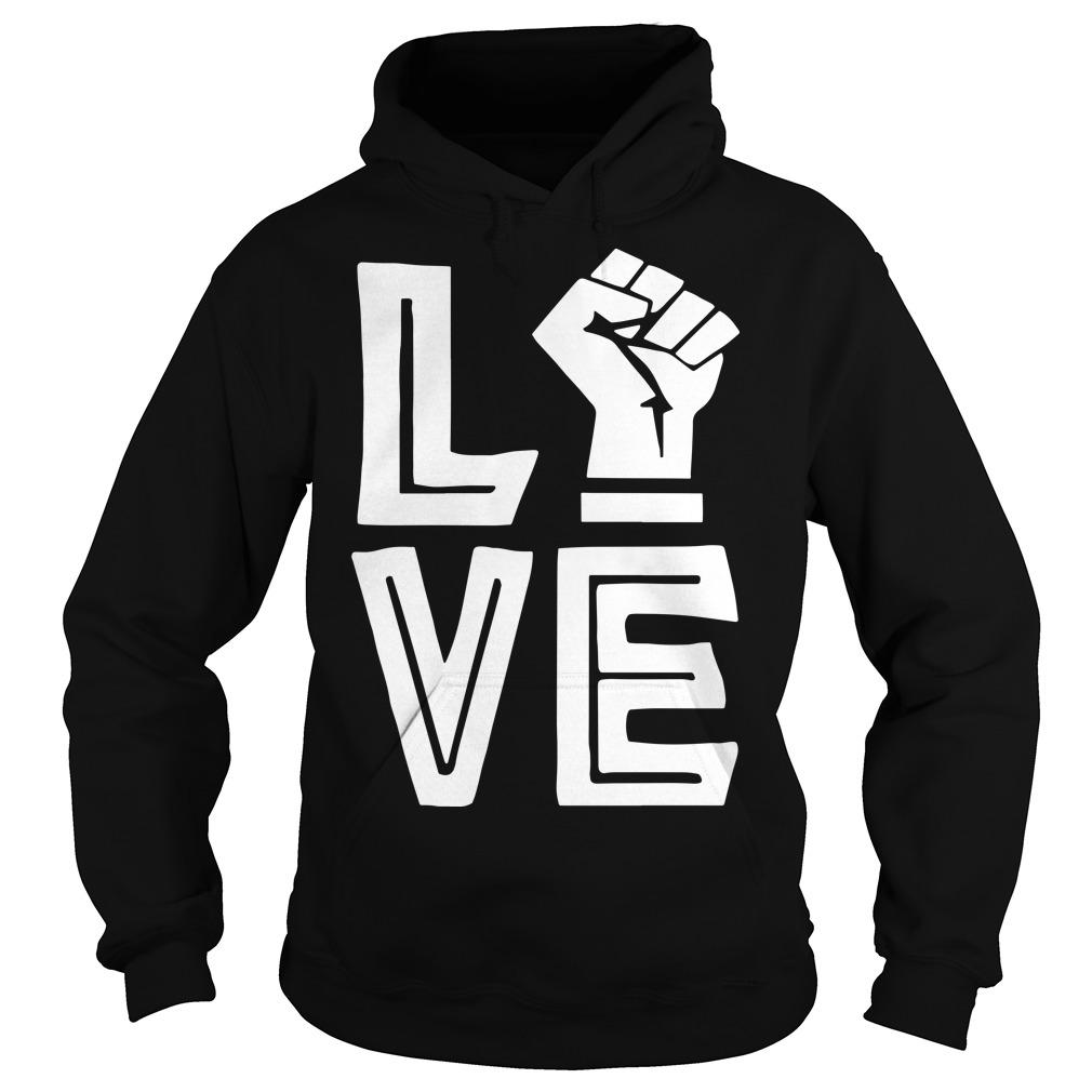 Strong Hand Love Hoodie