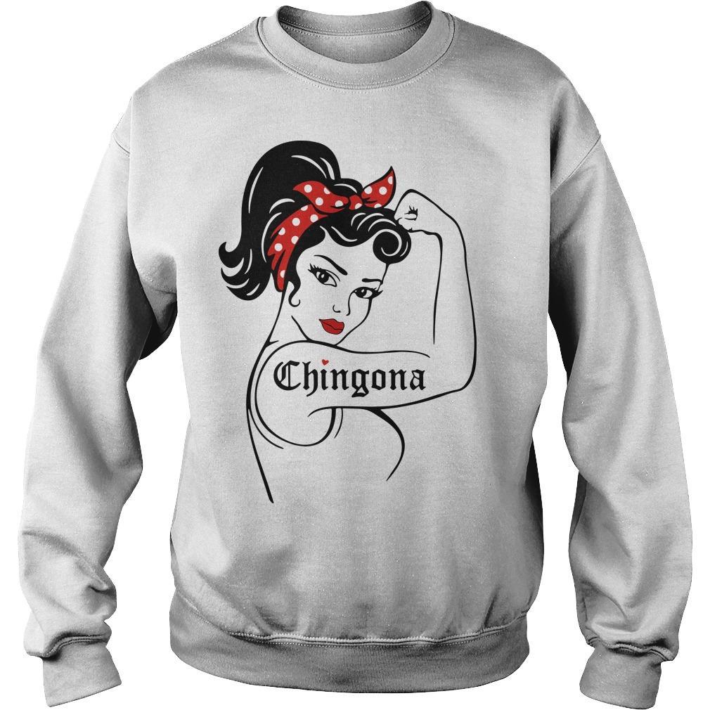 Strong Women Chingona Sweater