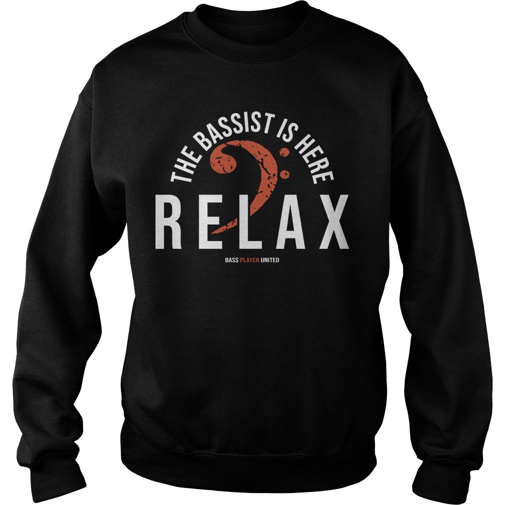 The Bassist Is Here Relax Sweater