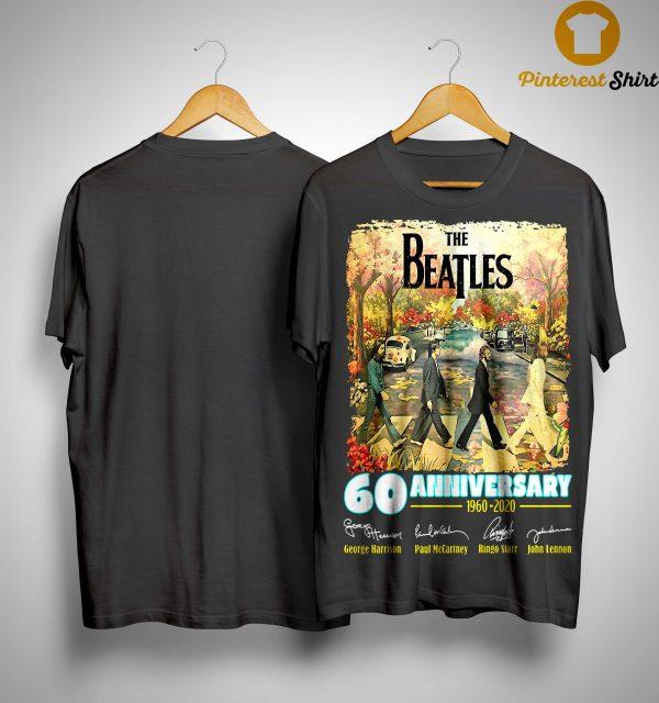 The Beatles 60 Anniversary George Harrison Paul McCartney Shirt