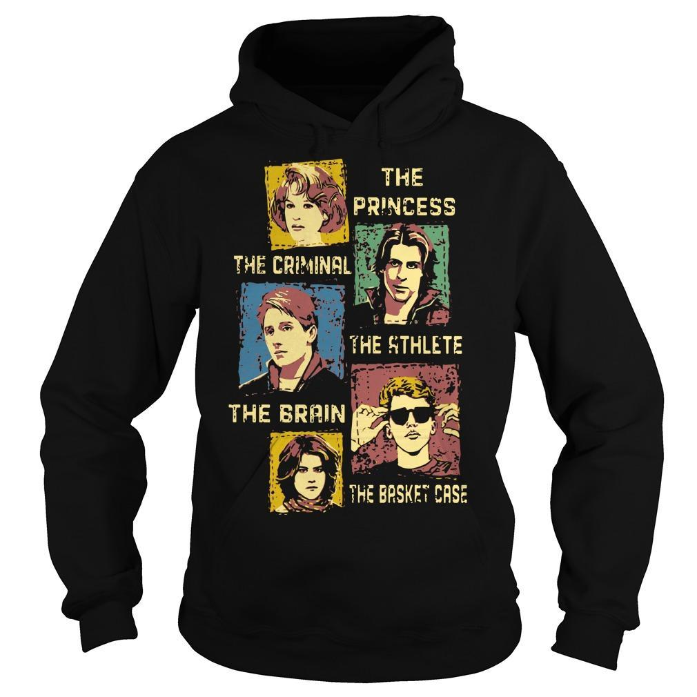 The Princess The Criminal The Athlete The Brain The Basket Case Hoodie