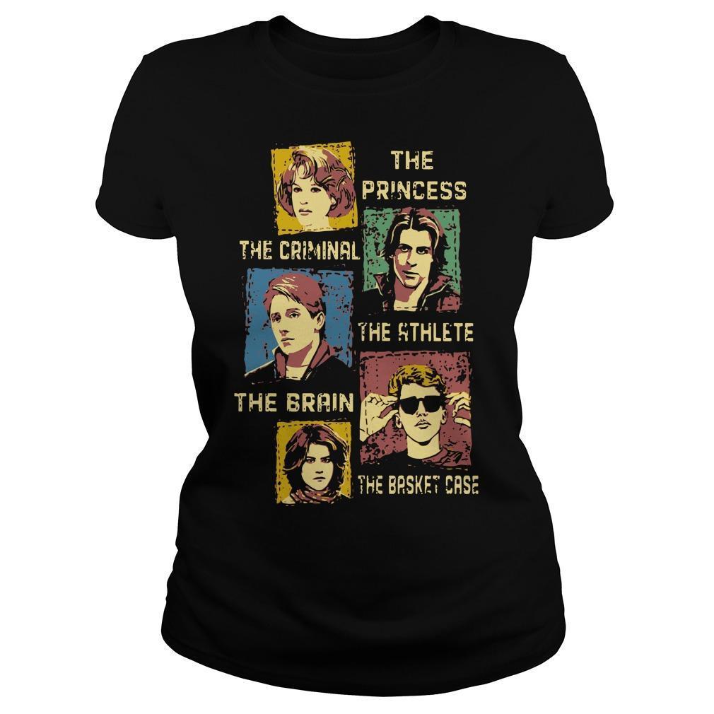 The Princess The Criminal The Athlete The Brain The Basket Case Longsleeve