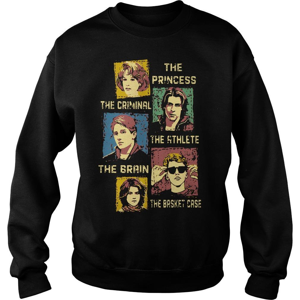The Princess The Criminal The Athlete The Brain The Basket Case Sweater