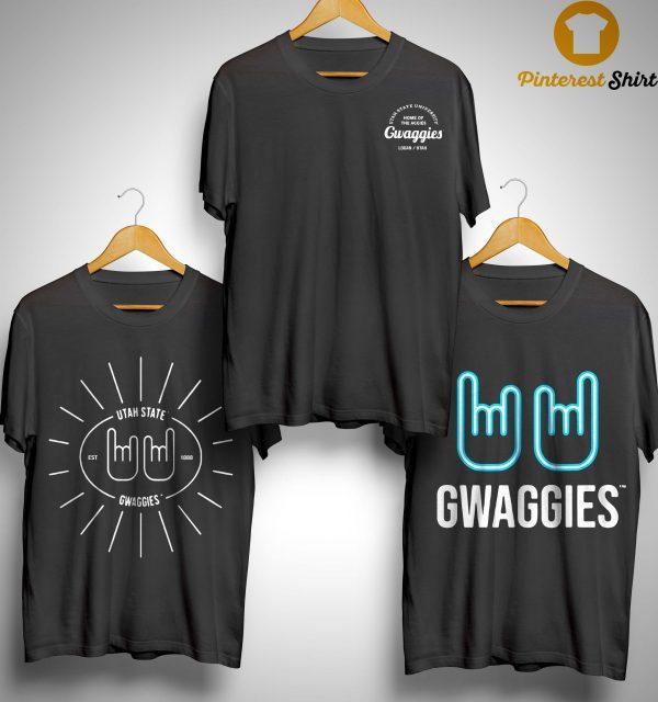Utah State University Gwaggies Shirt