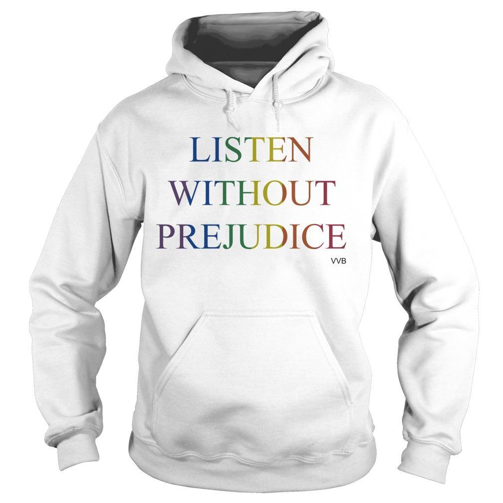 Victoria Beckham Listen Without Prejudice T Hoodie