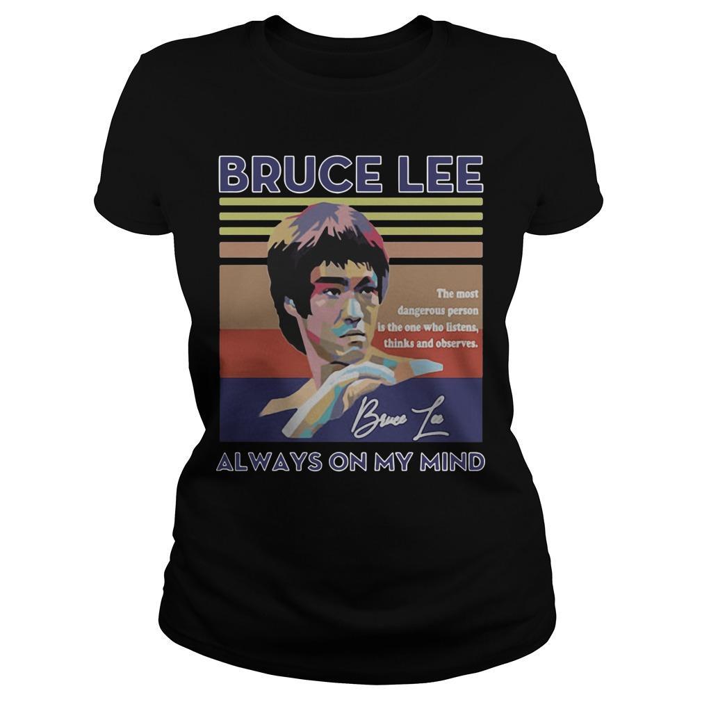 Vintage Always On My Mind Bruce Lee Longsleeve