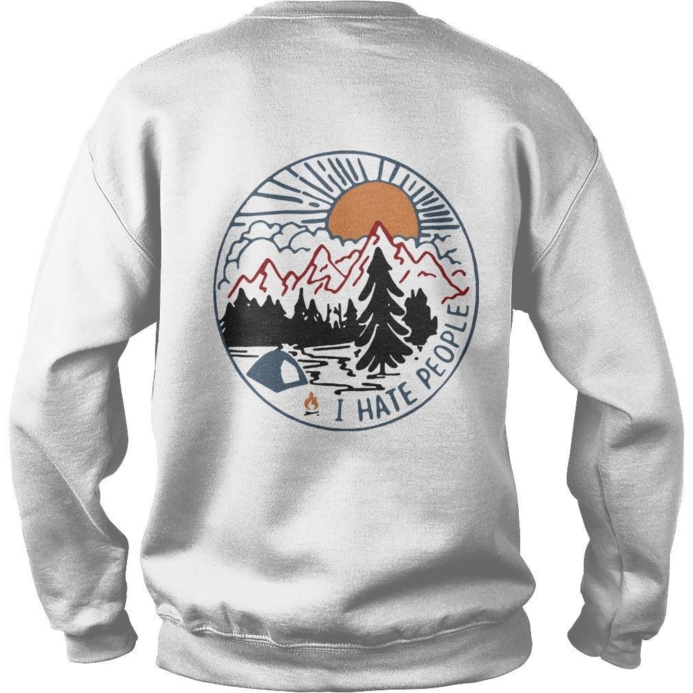 Vintage Bigfoot Eff You See Kay Why Oh You I Hate People Sweater