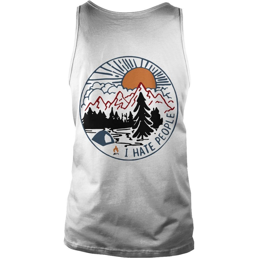 Vintage Bigfoot Eff You See Kay Why Oh You I Hate People Tank Top