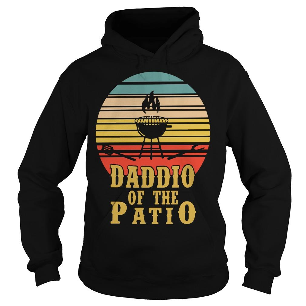 Vintage Daddio Of The Patio Hoodie