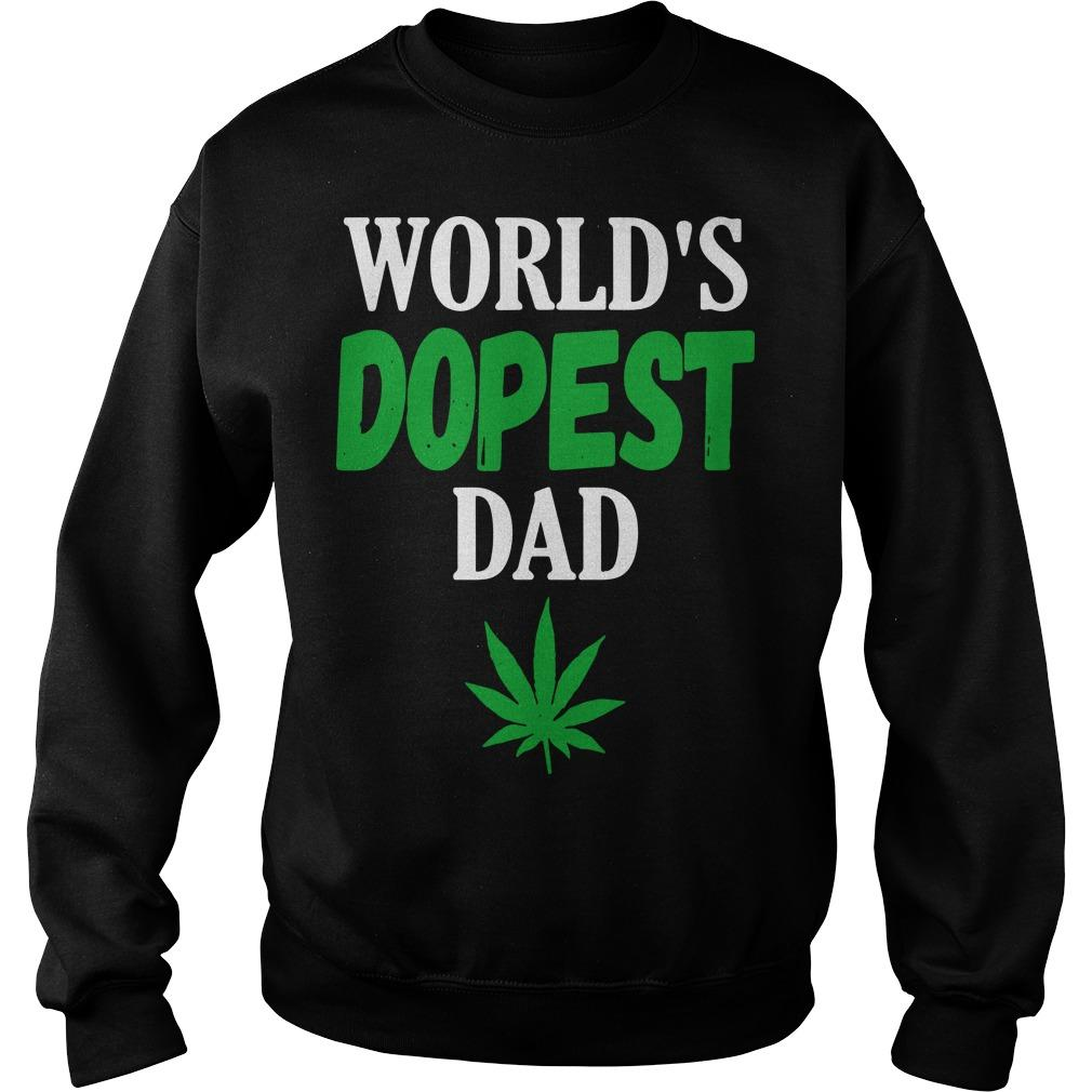 Worlds Dopest Dad Sweater