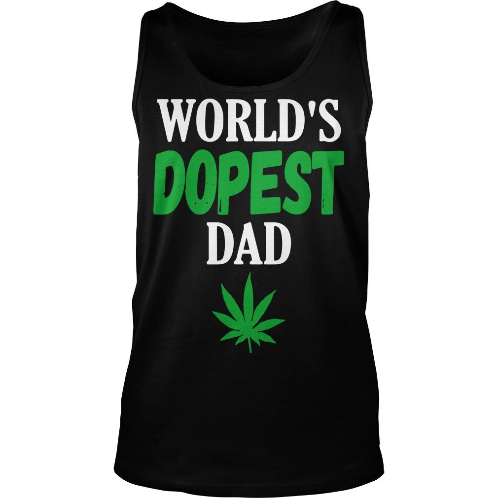 Worlds Dopest Dad Tank Top