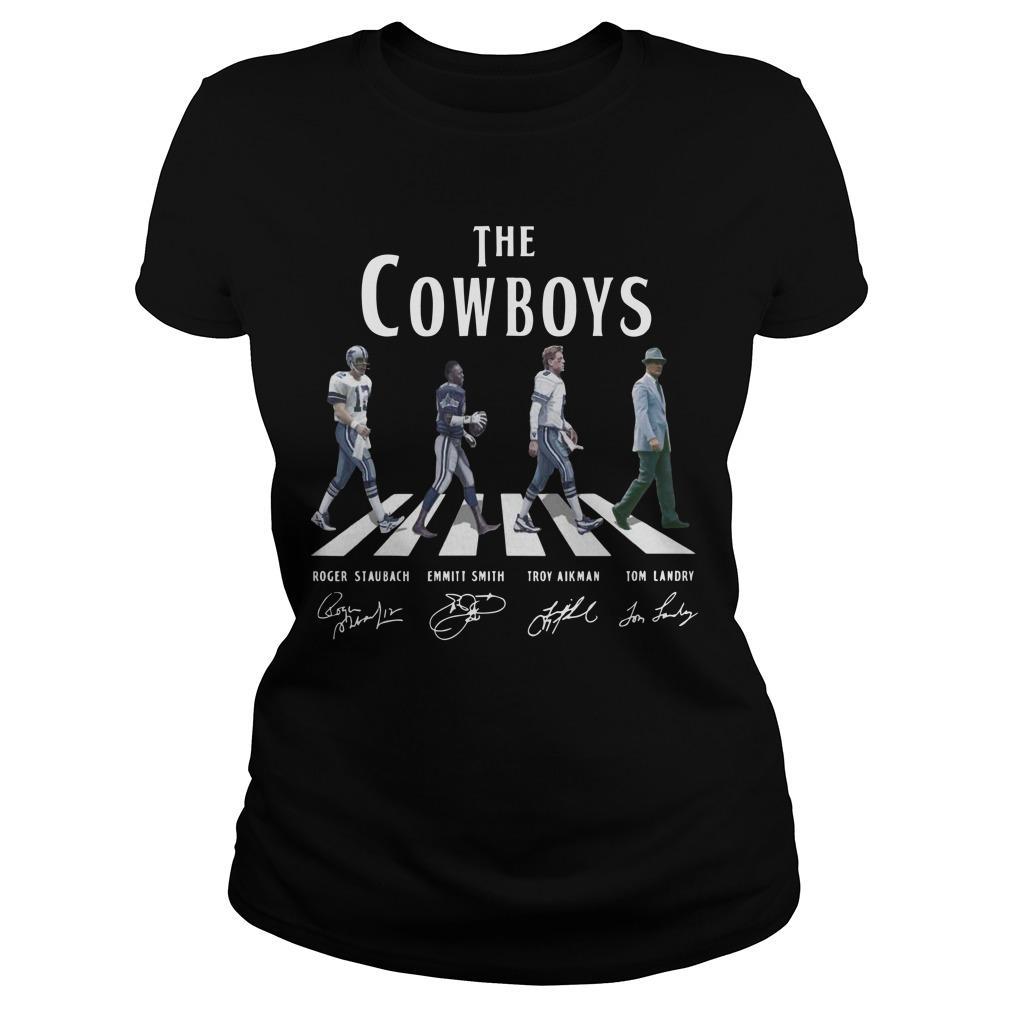 Abbey Road The Cowboys Signatures Longsleeve