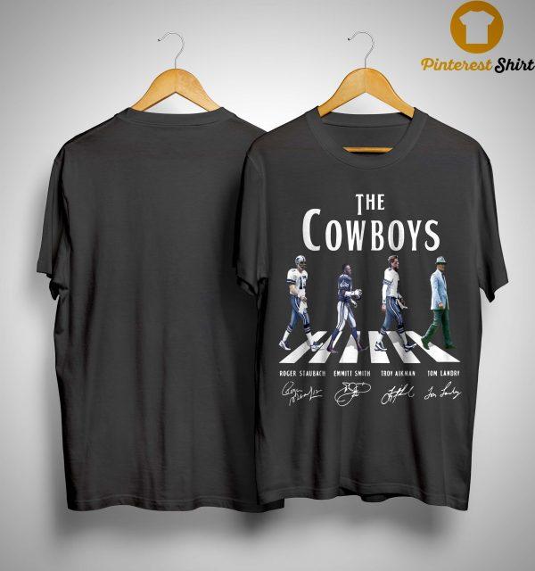 Abbey Road The Cowboys Signatures Shirt