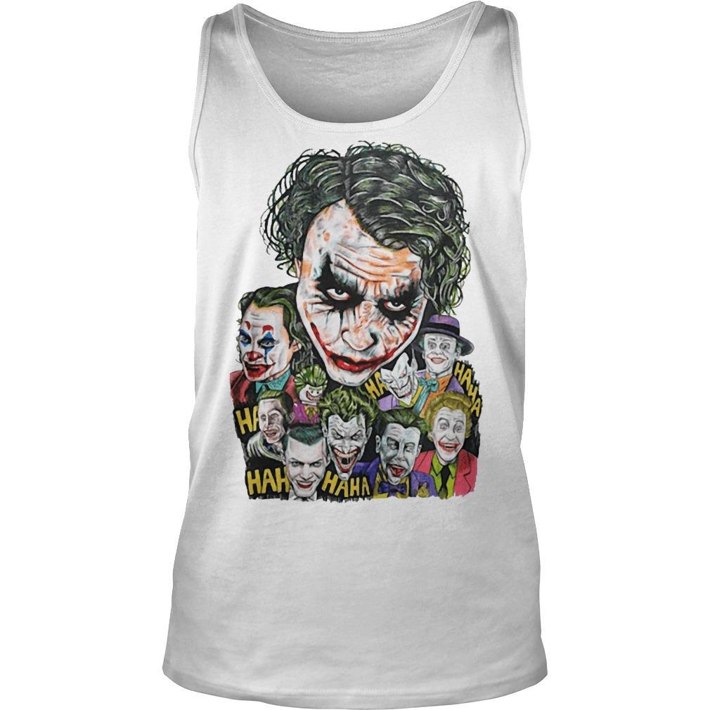 All Jokers Smiling Hahaha Tank Top