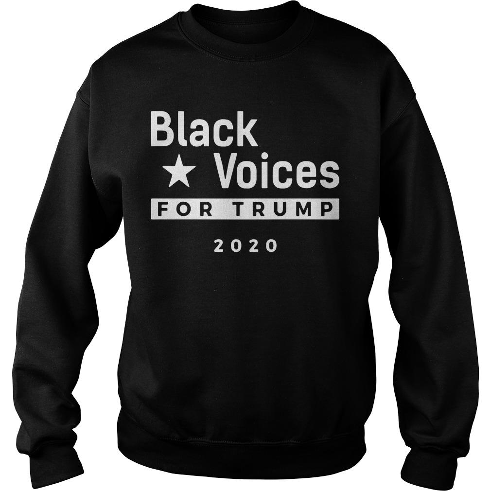 Black Voices For Trump 2020 Sweater