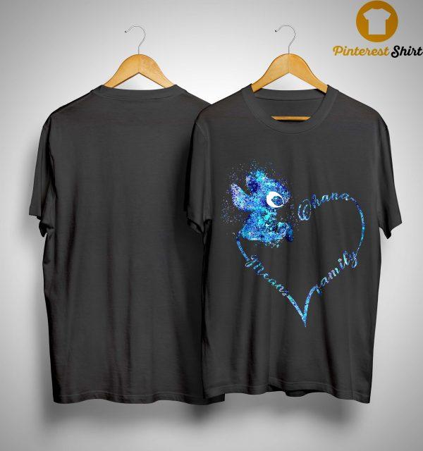 Heart Stitch Ohana Means Family Shirt