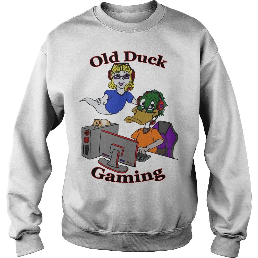 Old Duck Gaming Sweater