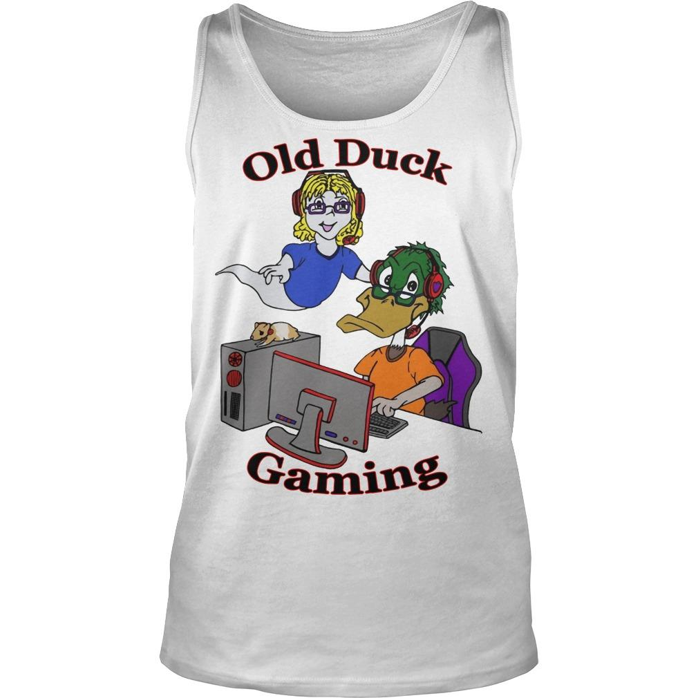 Old Duck Gaming Tank Top