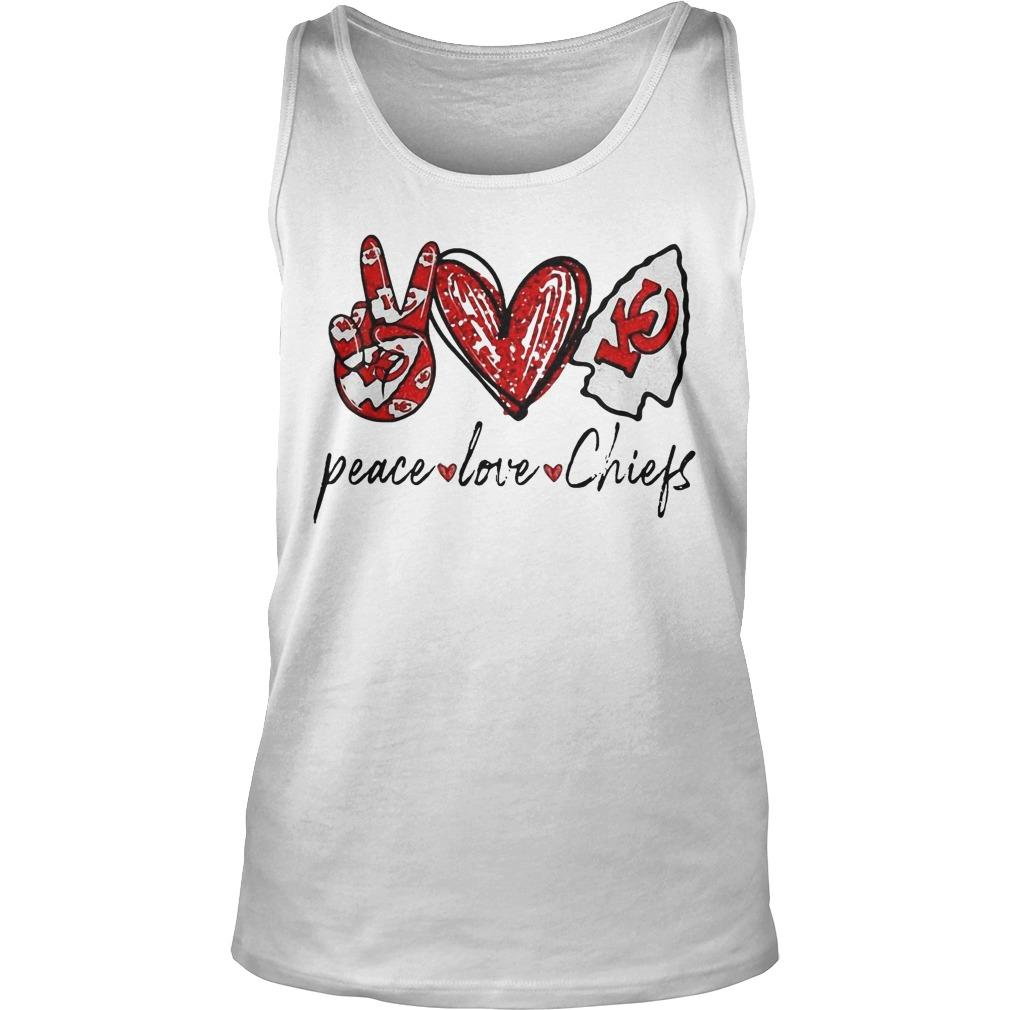 Peace Love Chiefs Tank Top