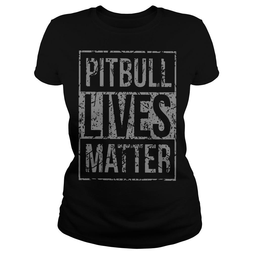 Pitbull Lives Matter Longsleeve