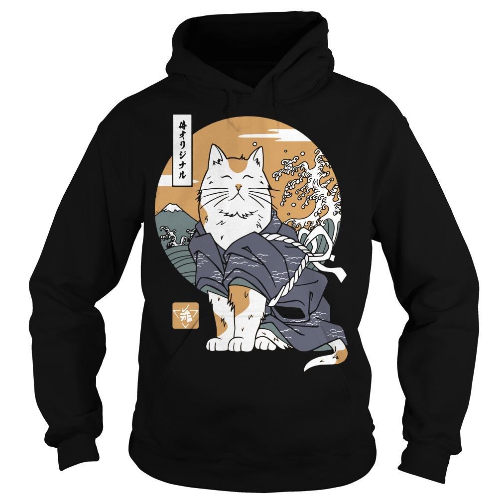 Samurai Cat Hoodie
