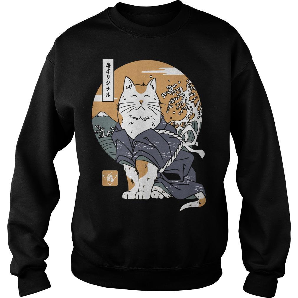Samurai Cat Sweater