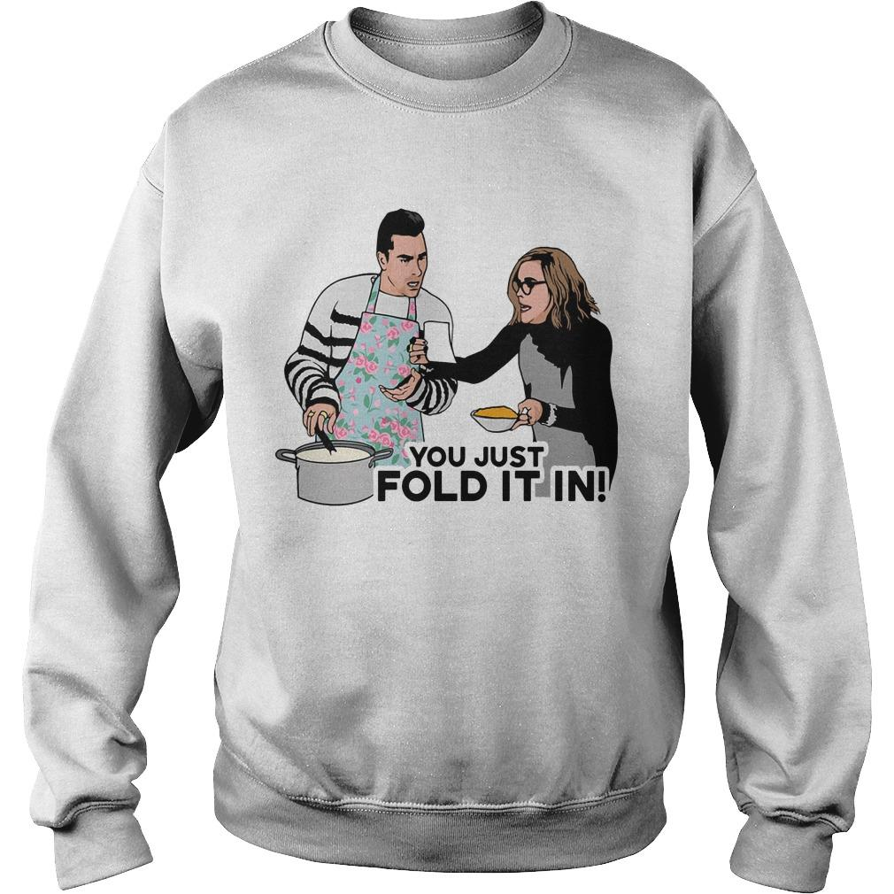 You Just Fold It In Sweater