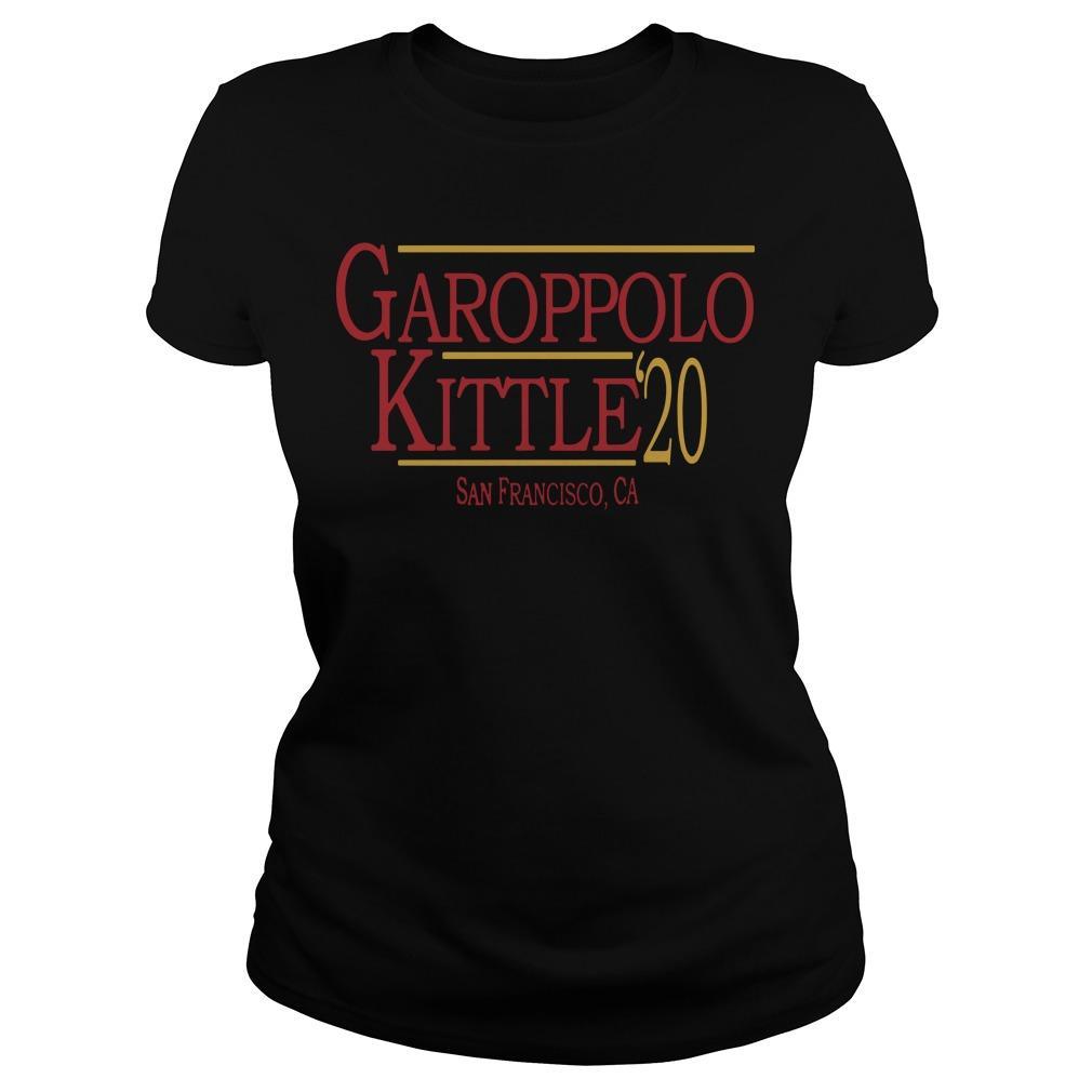 49ers George Kittle Best Job Garoppolo Kittle Longsleeve