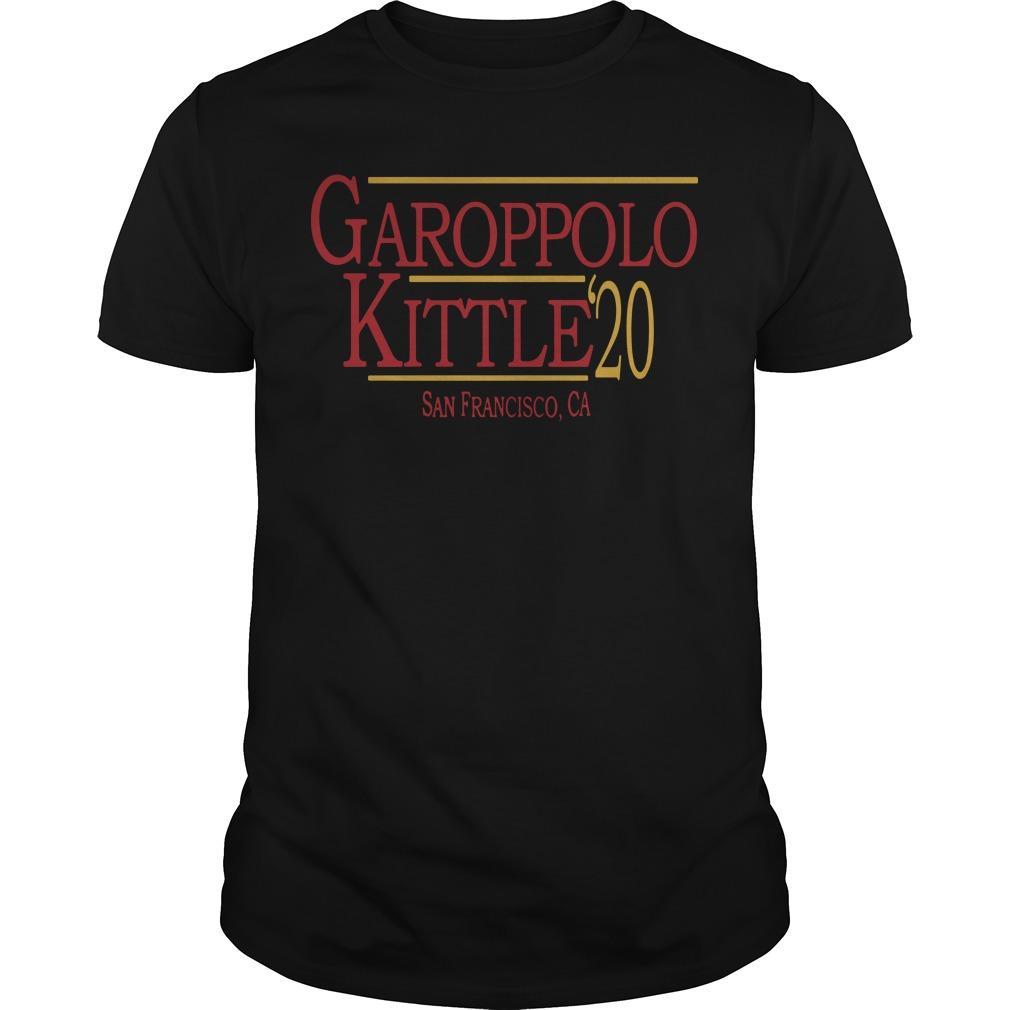 49ers George Kittle Best Job Garoppolo Kittle Shirt