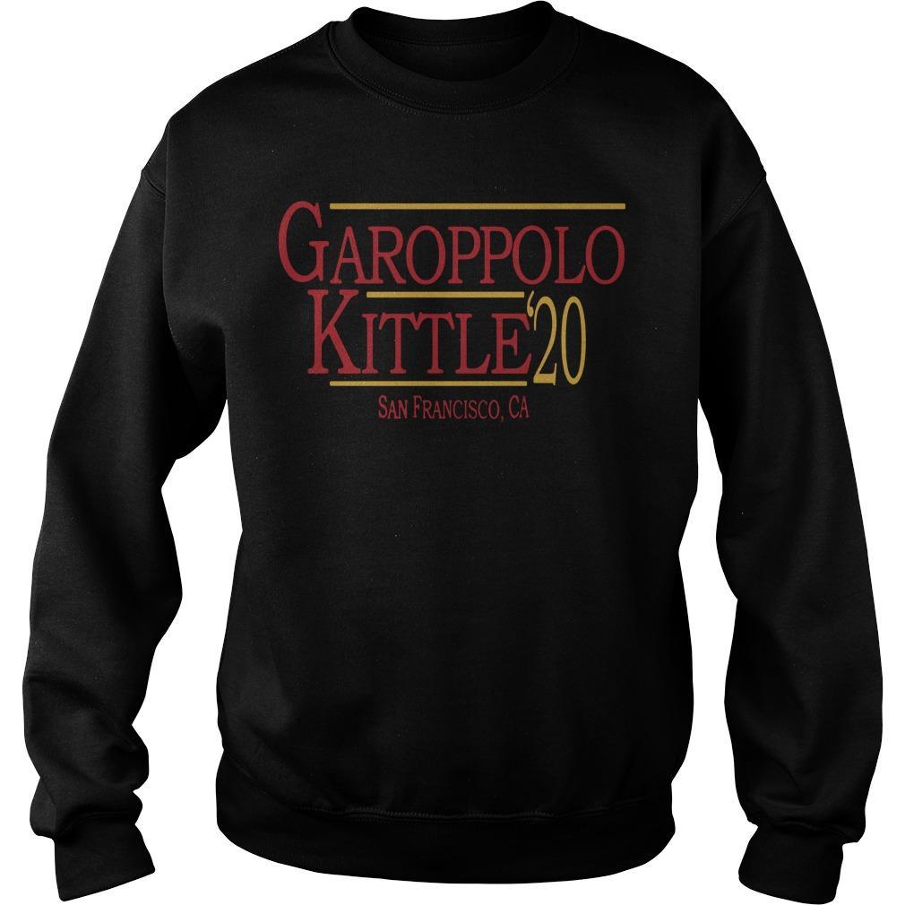 49ers George Kittle Best Job Garoppolo Kittle Sweater