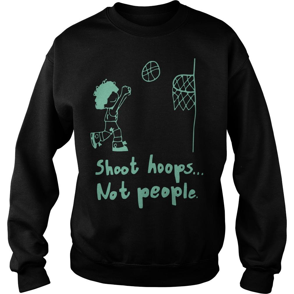 Basketball Shoot Hoops Not People Sweater