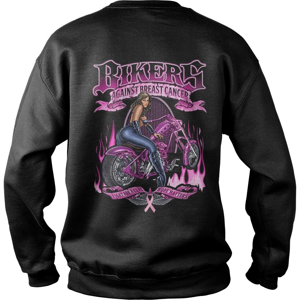 Bikers Against Breast Cancer Fight For A Cure Hoper Matters Sweater